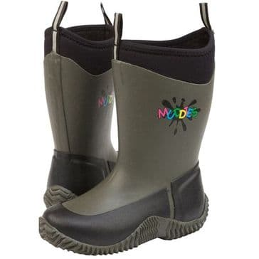 Grubs Icicle Children's Wellington Boot - Charcoal
