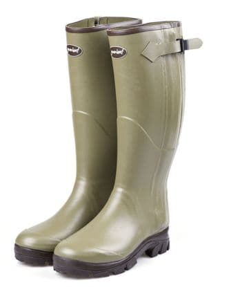 Gumleaf Country Clothing Royal Zip Wellington Boot