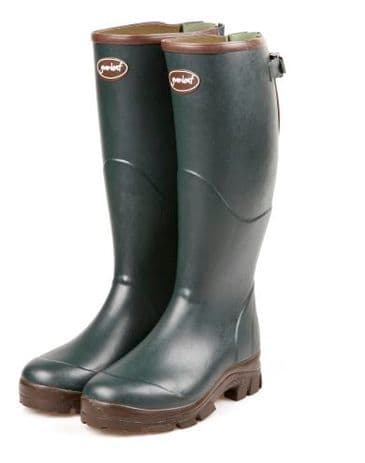 Gumleaf Country Clothing Viking Wide Calf Gusset Wellington Boot