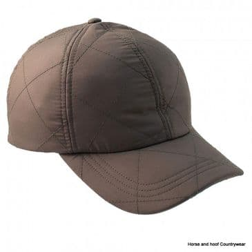 Heather Hats Kildare Quilted Baseball Cap - Olive