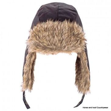 Heather Hats Loughrigg Wax Trapper Hat - Brown