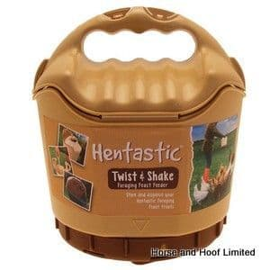 Hentastic Twist & Shake Poultry Feed Dispenser