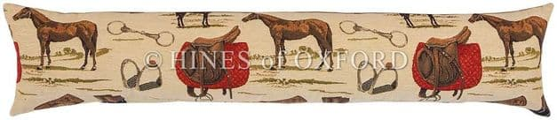 Horse Riding - Fine Tapestry Draught Excluder