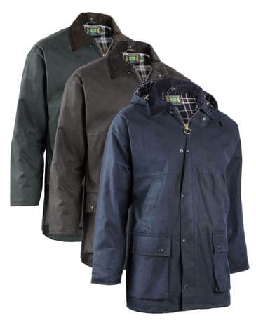 Hunter  Outdoor Bolton  Padded Wax Jacket