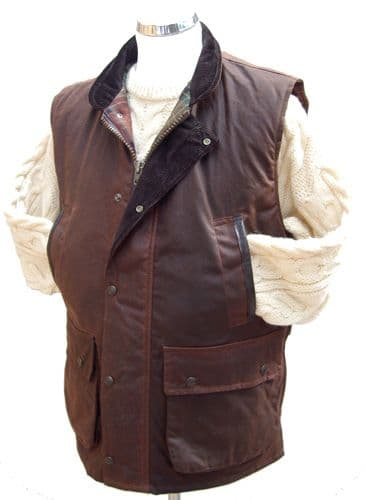Hunter Outdoor Derwent Wax Body Warmer - Antique Brown