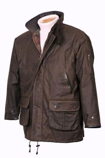 Hunter Outdoor Gentleman's Winchester Wax Hunting Jacket - Antique Brown