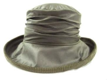 Hunter Outdoor Ladies Waxed Diana Hat - Olive