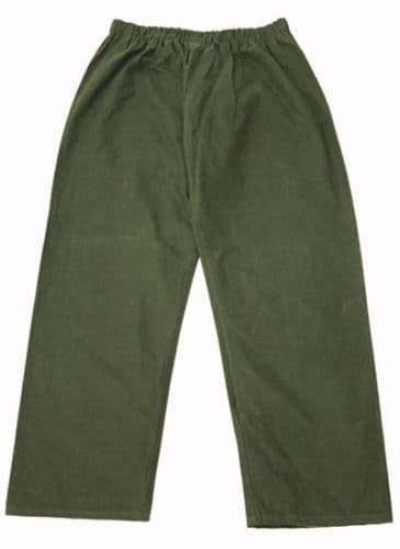 Hunter Outdoor Wax Trousers - Olive