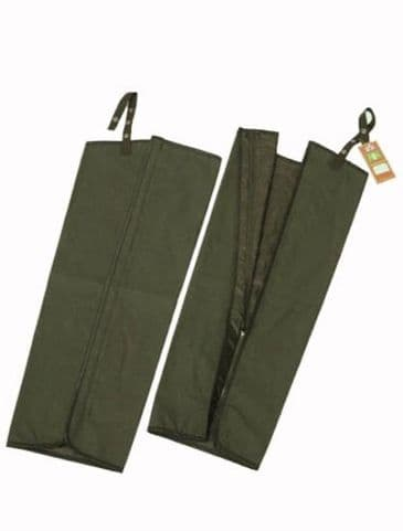Hunter Outdoor Waxed Chaps - Olive Green