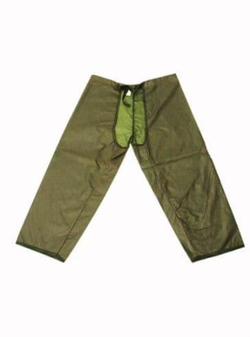 Hunter Outdoor Waxed Treggings - Olive Green
