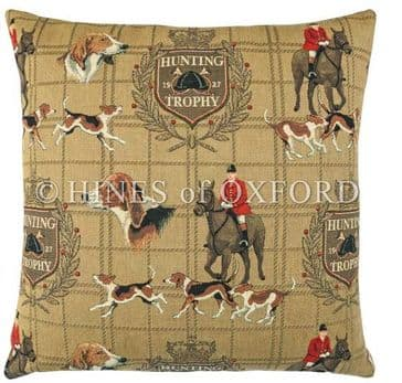 Hunting Trophy - Fine Tapestry Cushion