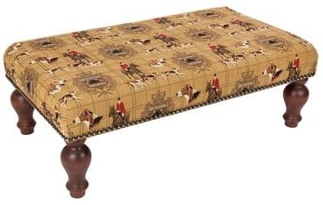 Hunting Trophy - Fine Woven Tapestry Stool