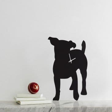 JACK RUSSELL CLOCK WITH WAGGING TAIL
