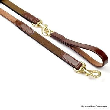 John Whitaker English Leather Draw Reins