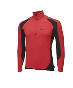 Keela Micro Pulse Fleece Top - Red / Black
