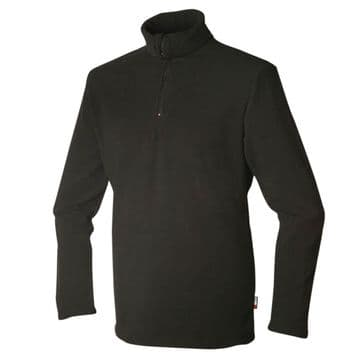 Keela Mocha Advance Zip Top -  Black