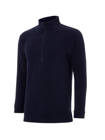 Keela Mocha Advance Zip Top -  Navy