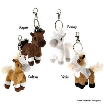 Keyrings - Wendy Soft Horse