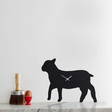 LAMB CLOCK WITH WAGGING TAIL