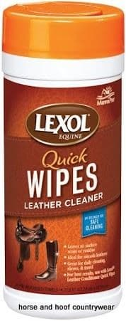 Manna Pro Lexol Leather Cleaner Quick Wipes