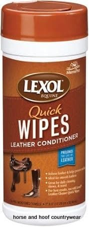 Manna Pro Lexol Leather Conditioner Quick Wipes