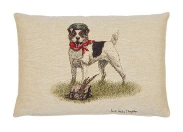 Master Jack Russell  - Fine Tapestry Cushion