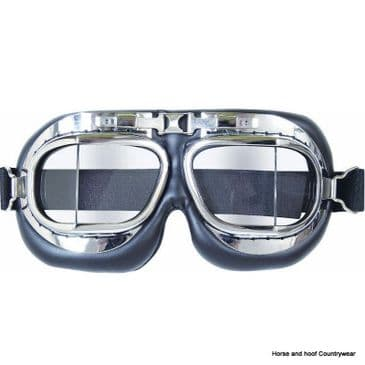 Mil-com Flyers Goggles - Crome