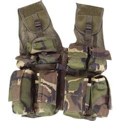 Mil-Com Kids assault Vest - Camo