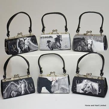 Mini Bags Black / White