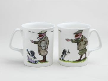 Mr Perks Hie/Lost China Mugs