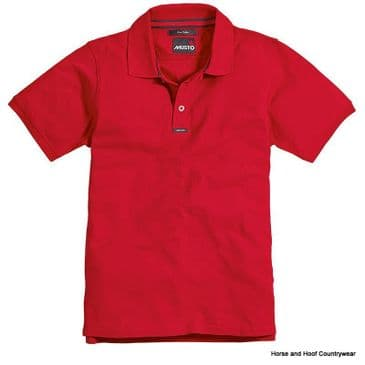 Musto Team Short Sleeve Pique Polo Shirt