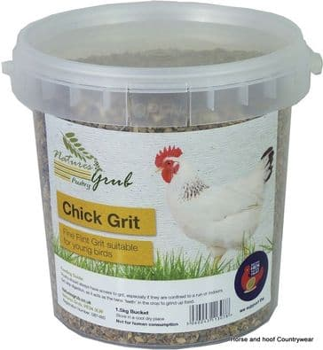Natures Grub Chick Grit