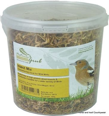 Natures Grub Insect Mix