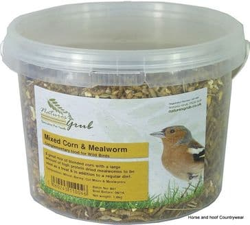Natures Grub Mixed Corn & Mealworms