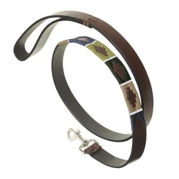 Pampeano Leather Polo Dog Lead - Caza