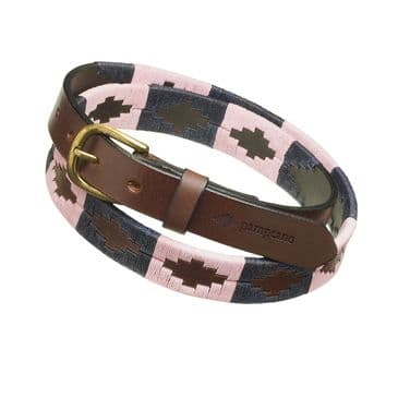 Pampeano Luxury Hand Stitched Skinny Polo Belts.