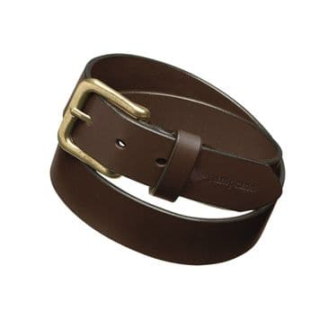 Pampeano Polo Belt, Classic Pure Brown Leather Belt - Papa