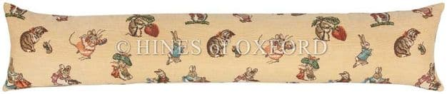 Peter Rabbit and Friends - Fine Tapestry Draught Excluder