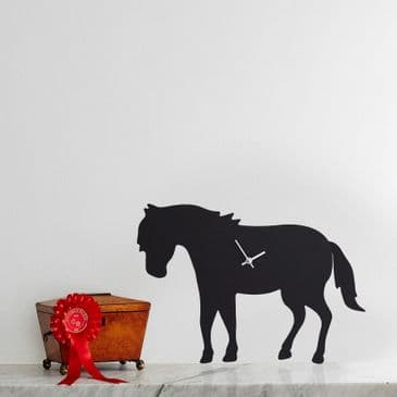 PONY CLOCK  WITH WAGGING TAIL