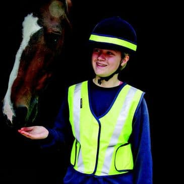 Proviz Yellow High Visibility Horse riding Yellow Waistcoat