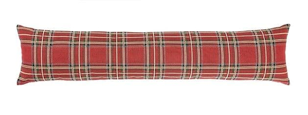 Red Tartan - Fine Tapestry Draught Excluder