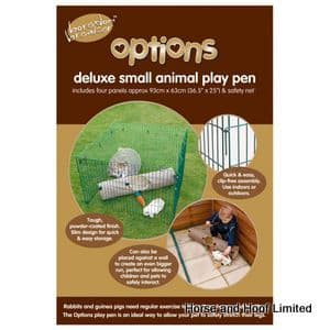 Rosewood Deluxe Small Animal Play Pen