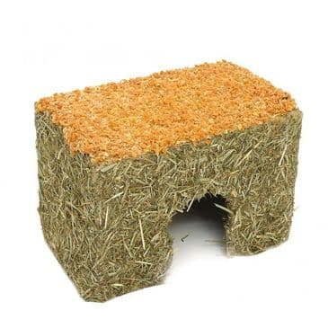 Rosewood Naturals Large Carrot Cottage Toy For Small Animals - Large