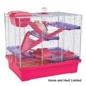Rosewood Pico  Pink Hamster Cage - Large