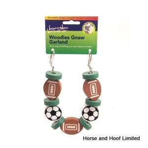Rosewood Woodies Sports Garland Small Animal Toy