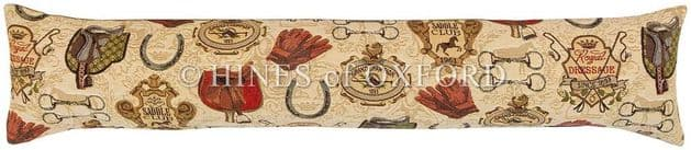 Royal Dressage - Fine Tapestry Draught Excluder
