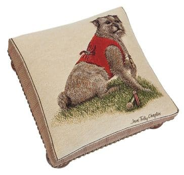 Rt. Hon. Thomas Terrier - Fine Woven Tapestry Footstool