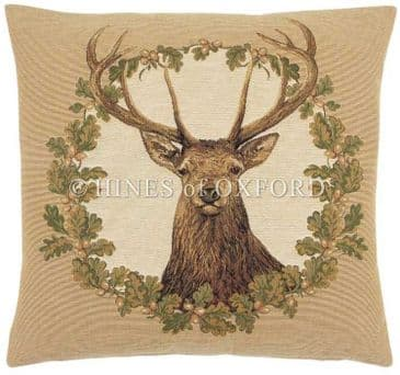 Stag Beige - Fine Tapestry Cushion