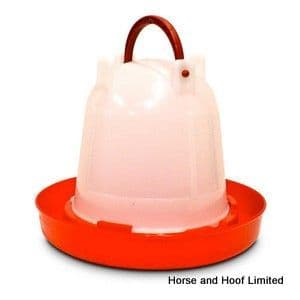 Supa Red & White Poultry Drinker 3L