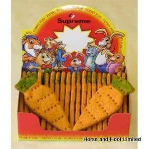 Supreme Giant Carrots For Small Animals  24 x 75g